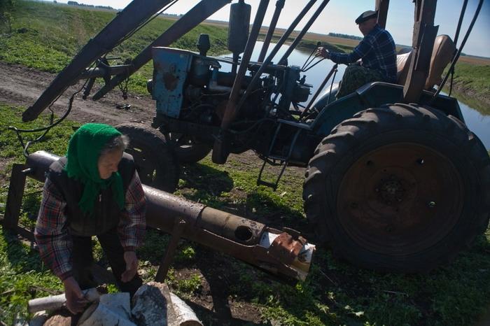 Как сделать полный привод на самодельный трактор